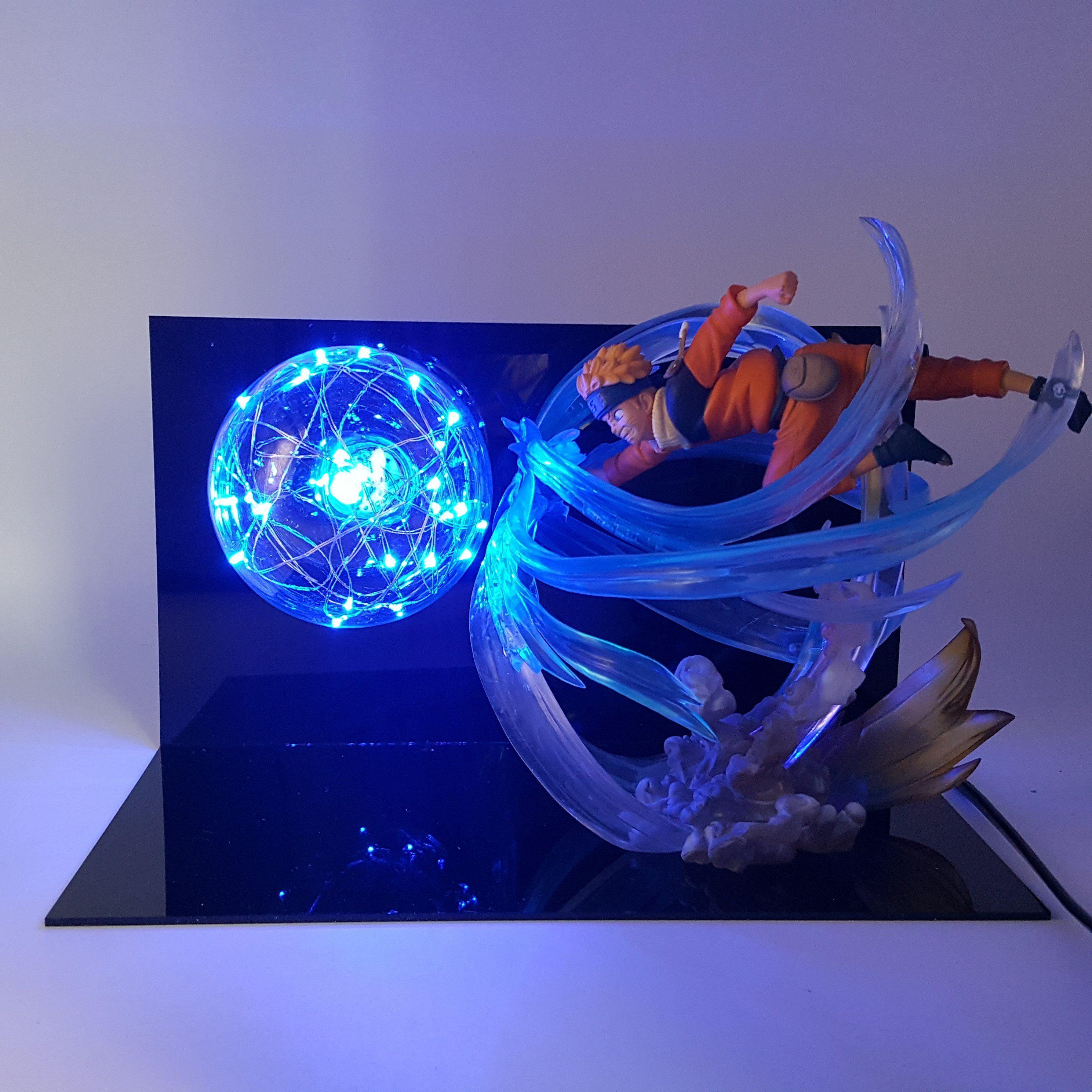Naruto Blue Lamp Anime Anime Naruto Anime Gifts