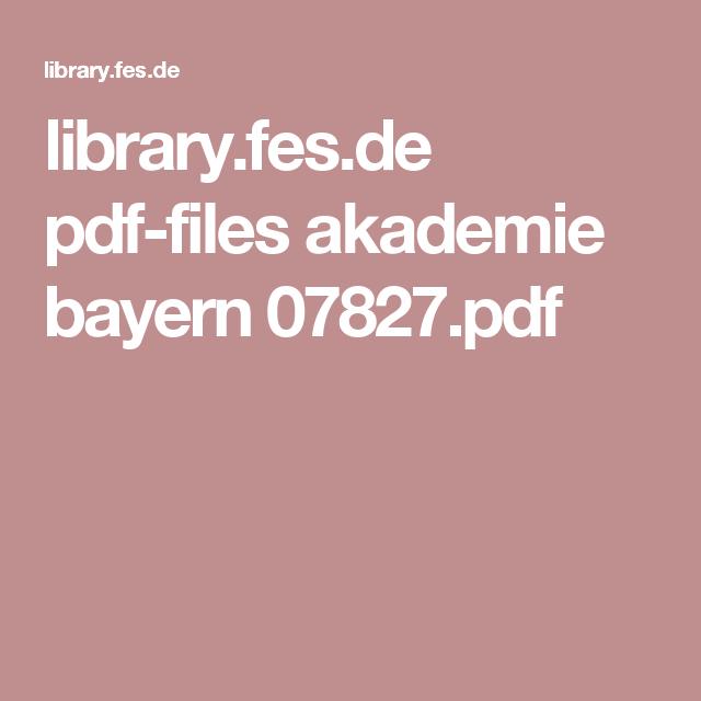 library.fes.de pdf-files akademie bayern 07827.pdf