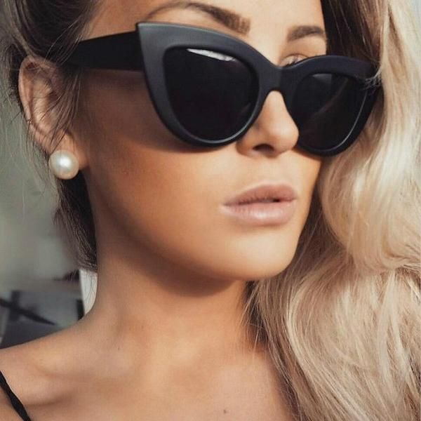 Retro Style Luxury Brand Design Fashion Girls Square Eye Sun Glasses Vintage Party Goggles Oversize Men Women Square Sunglasses Women's Sunglasses Apparel Accessories