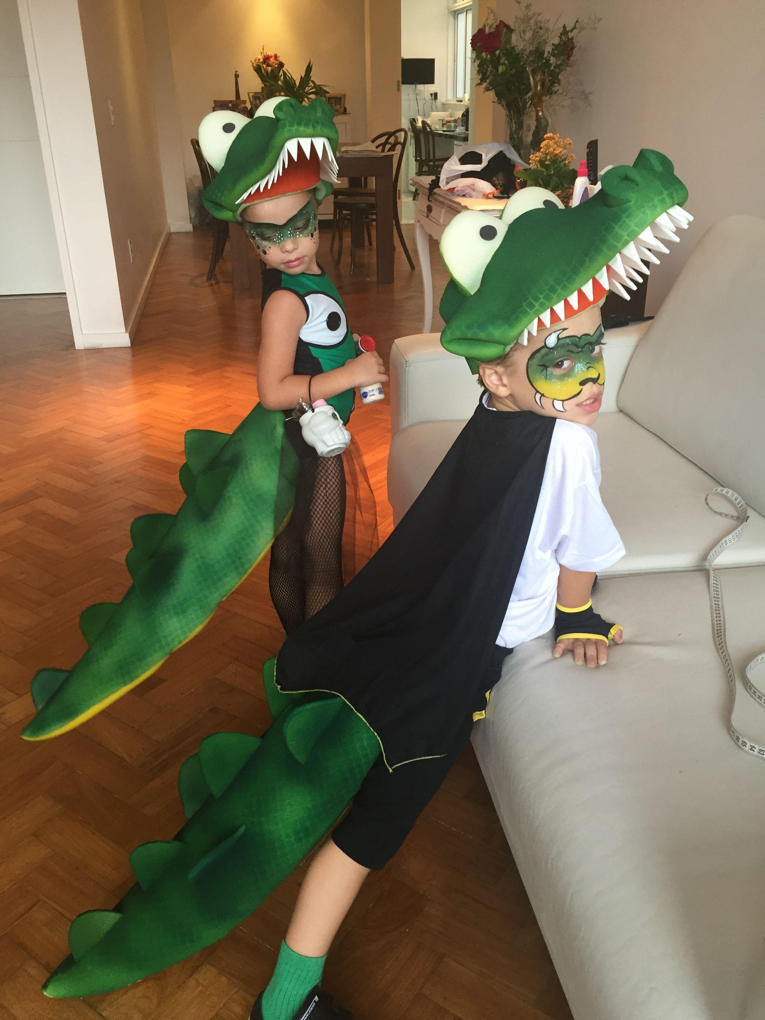 Crocodiles Costumes Mariaenzo