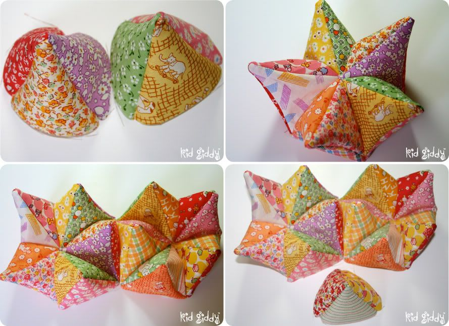 The Kid Giddy Craft, DIY, Sewing, Recipe, Mom Blog by Kerry Goulder: Busy Monday: AccuQuilt GO! Modular Star Tutorial & Giveaway!
