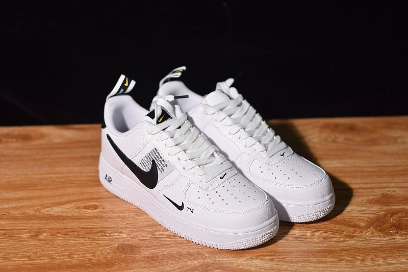 Nike Air Force 1 07 Lv8 Utility White Black Black Tour Yellow