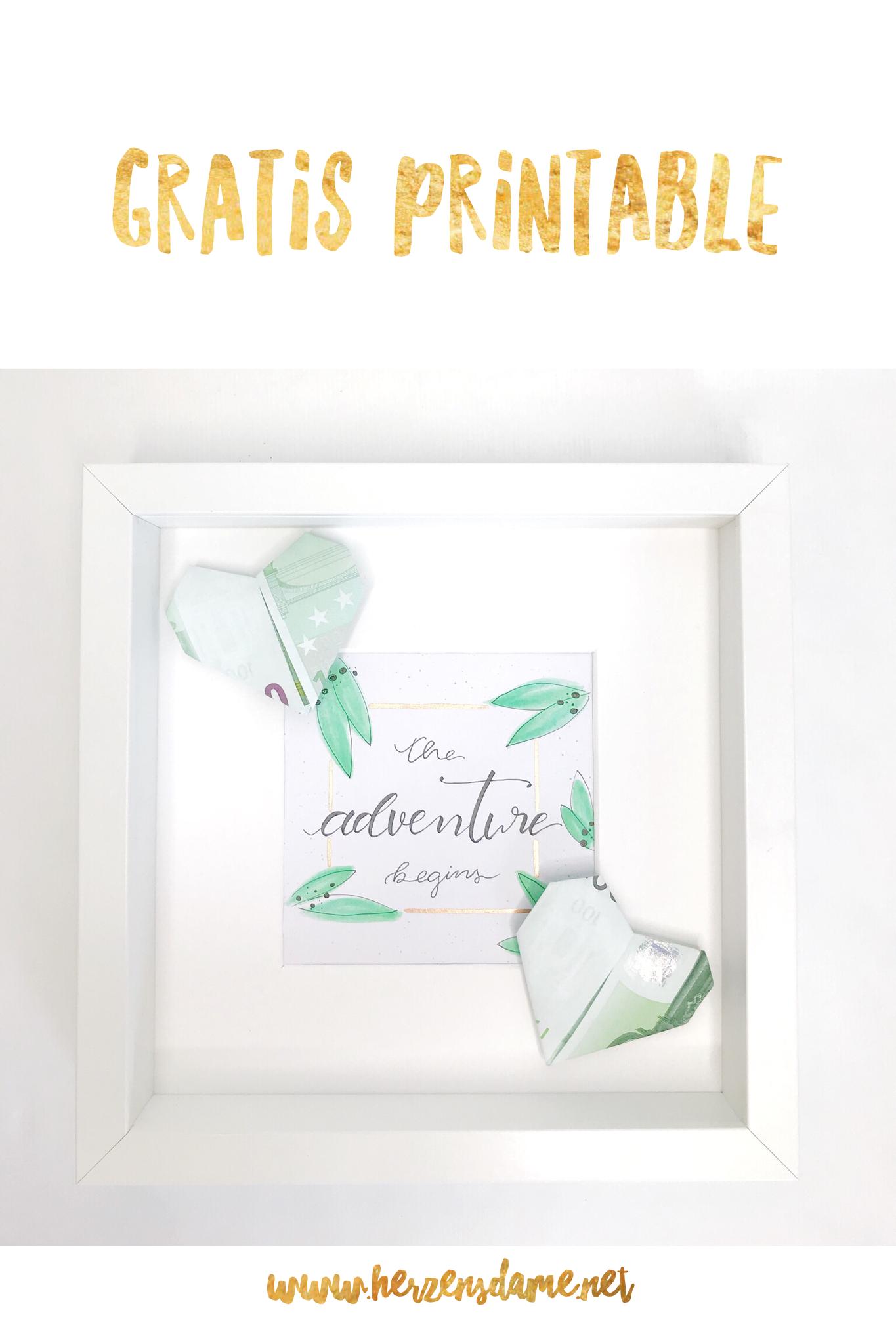 Geldscheine Origami Geldgeschenk Hochzeitsgeschenk Geschenkideen