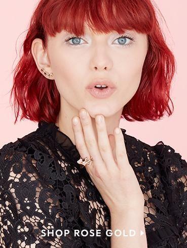 rose gold Hair Pinterest