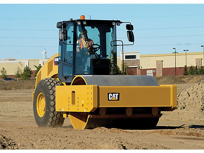 Soil Compactor Poster Download Caterpillar Irving 972