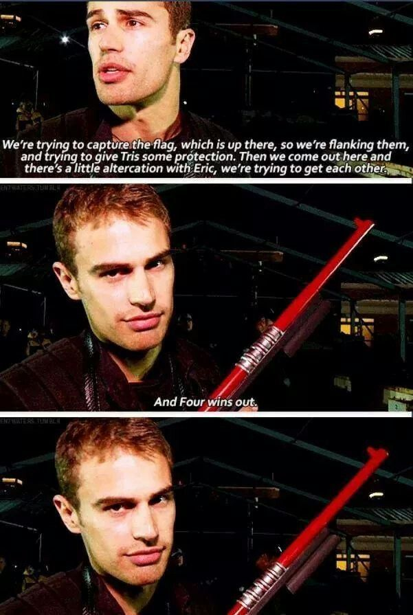 Theo, this is why we love you.