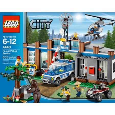 Lego City Forest Police Station Assorted Police Station Lego