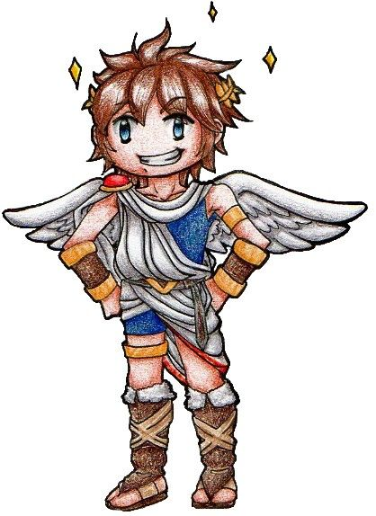 Pit Kun From Kid Icarus Uprising Shin Hikari Shinwa Its A
