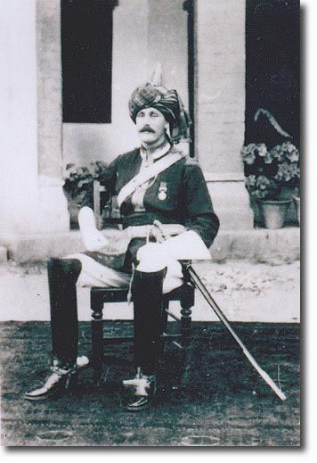 Capt G P Brasier Creagh 9th Bengal Lancers Hodson S Horse