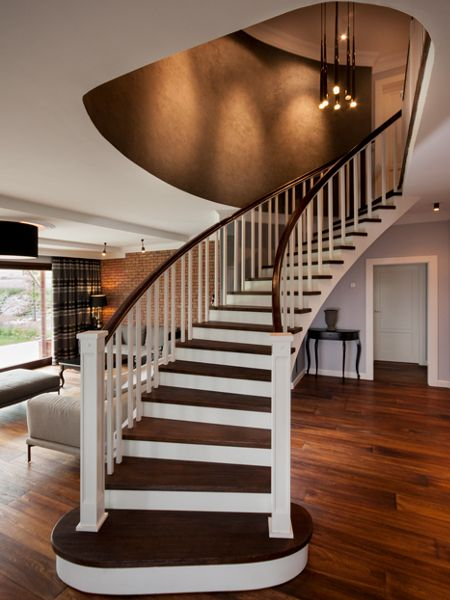 Classy Staircase Iluminated With Slim By Vibia Stylowe Schody