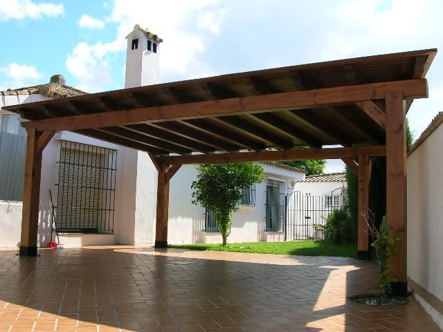 Love the pergola design add brick bases voila for Brick carport designs