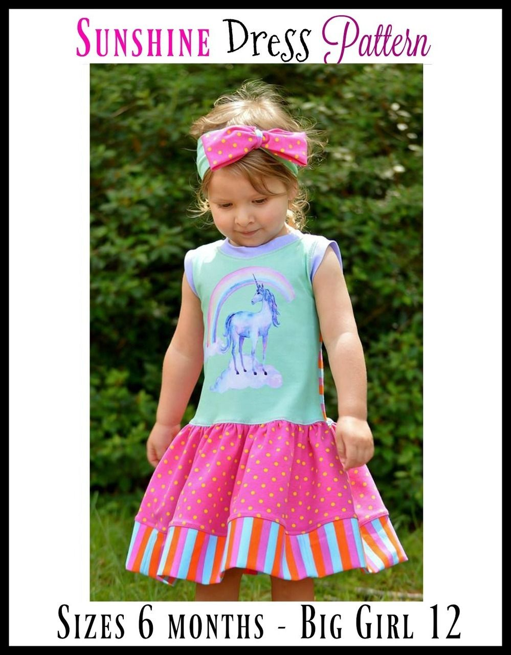 Girls sunshine dress pdf sewing pattern by ellie and mac would be girls sunshine dress pdf sewing pattern by ellie and mac would be ok with school dress jeuxipadfo Images