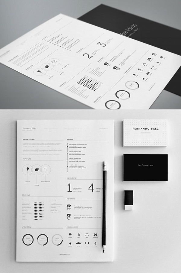 Free Resume Template  Business    Free Resume Psd