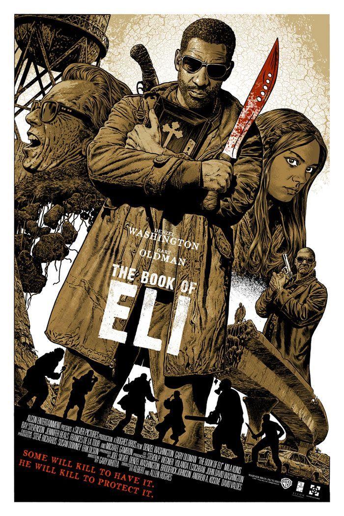 Beautiful Movie Posters O Livro De Eli Cartazes De Cinema