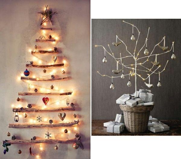 Moderner weihnachtsbaum selber basteln lichterketten for Weihnachtsbaum basteln papier