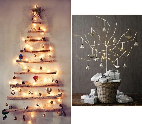 Moderner Weihnachtsbaum.Moderner Weihnachtsbaum Selber Basteln Lichterketten