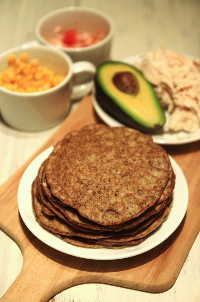 grain-free flaxseed wraps