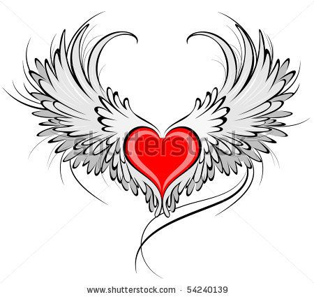 Google Image Result for http://image.shutterstock.com/display_pic_with_logo/153982/153982,1275312773,1/stock-vector-artistically-painted-red-heart-with-angel-wings-gray-decorated-with-black-smooth-contour-54240139.jpg