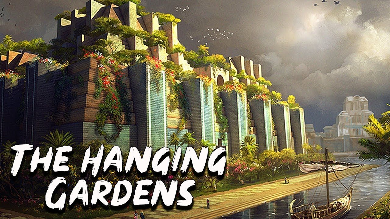 67d3ca9023e7ac824cc3cf5352e21069 - Seven Wonders Of The Ancient World Hanging Gardens