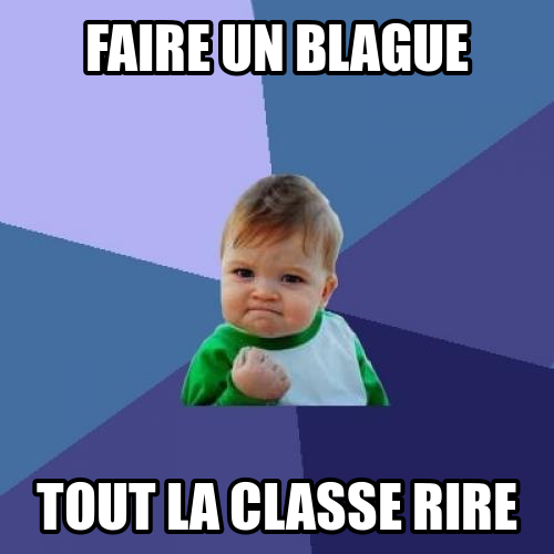 French Memes Success Kid Funny Hilarious