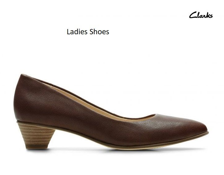 1dca298649fb Buy trending Ladies Shoes Online at best prices in India with Clarks ...