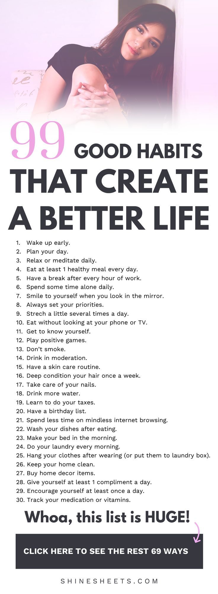 Photo of 99 Good Habits for a Better Life – New Ideas