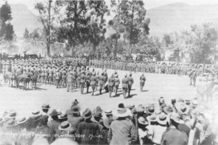 ExecutedToday.com » 1902: Gideon Scheepers, Boer guerrilla Scheepers is read the death warrant on January 17, 1902 — before Graaf-Reinet townspeople assembled by British orders.