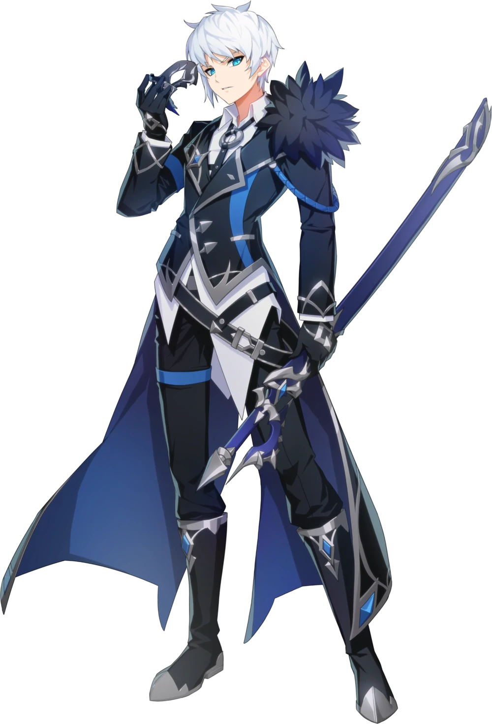 Lass Grand Chase Dimensional Chaser Grand Chase Wiki Fandom Powered By Wikia Anime Character Design Anime Outfits Anime Knight