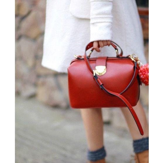 Best seller LONA Handbag (red) -restocked !!!! $46.00