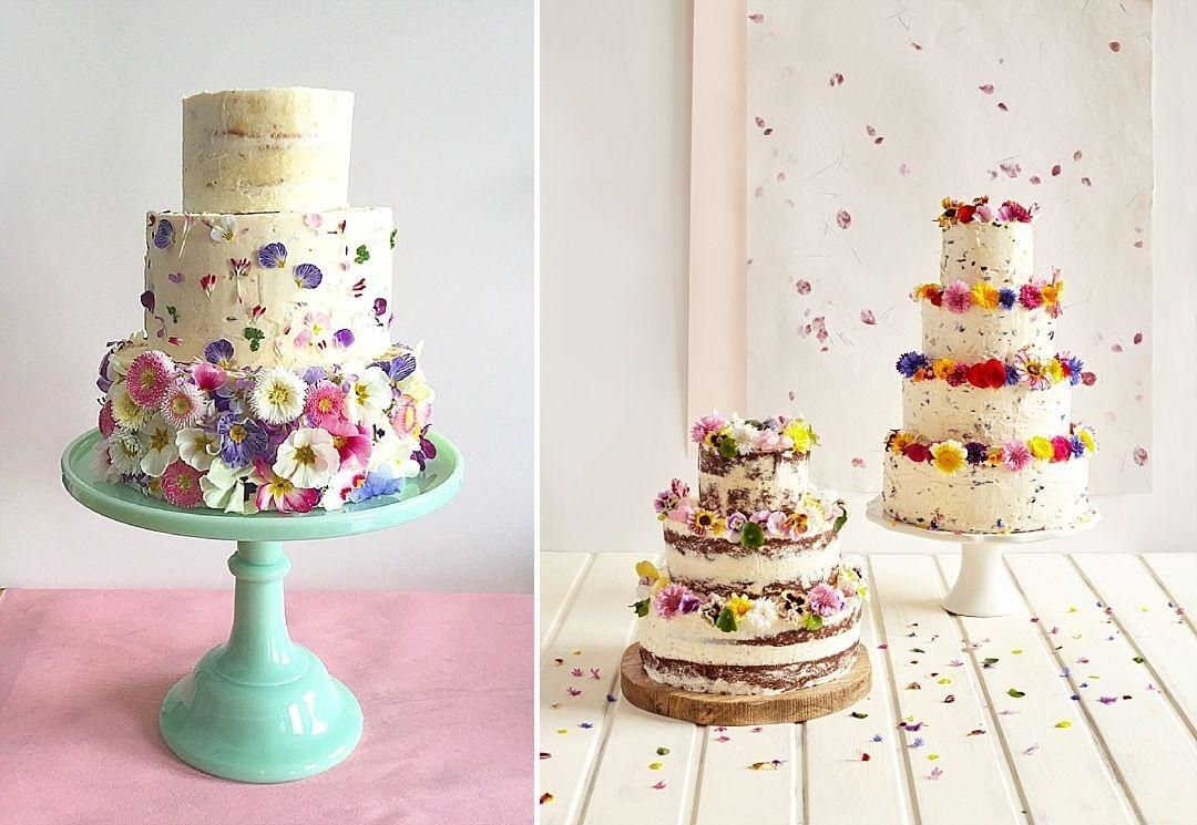 Edible Flowers For Wedding Cake Decoration | Wedding Dress ...
