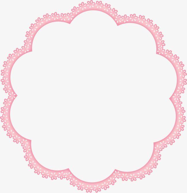 Flower Clipart Frame Pink Border Hand Painted Cartoon Pink Border Hand Painted Pink Clipart Annular Clipart Bord Flower Clipart Flower Frame Etsy Shop Branding