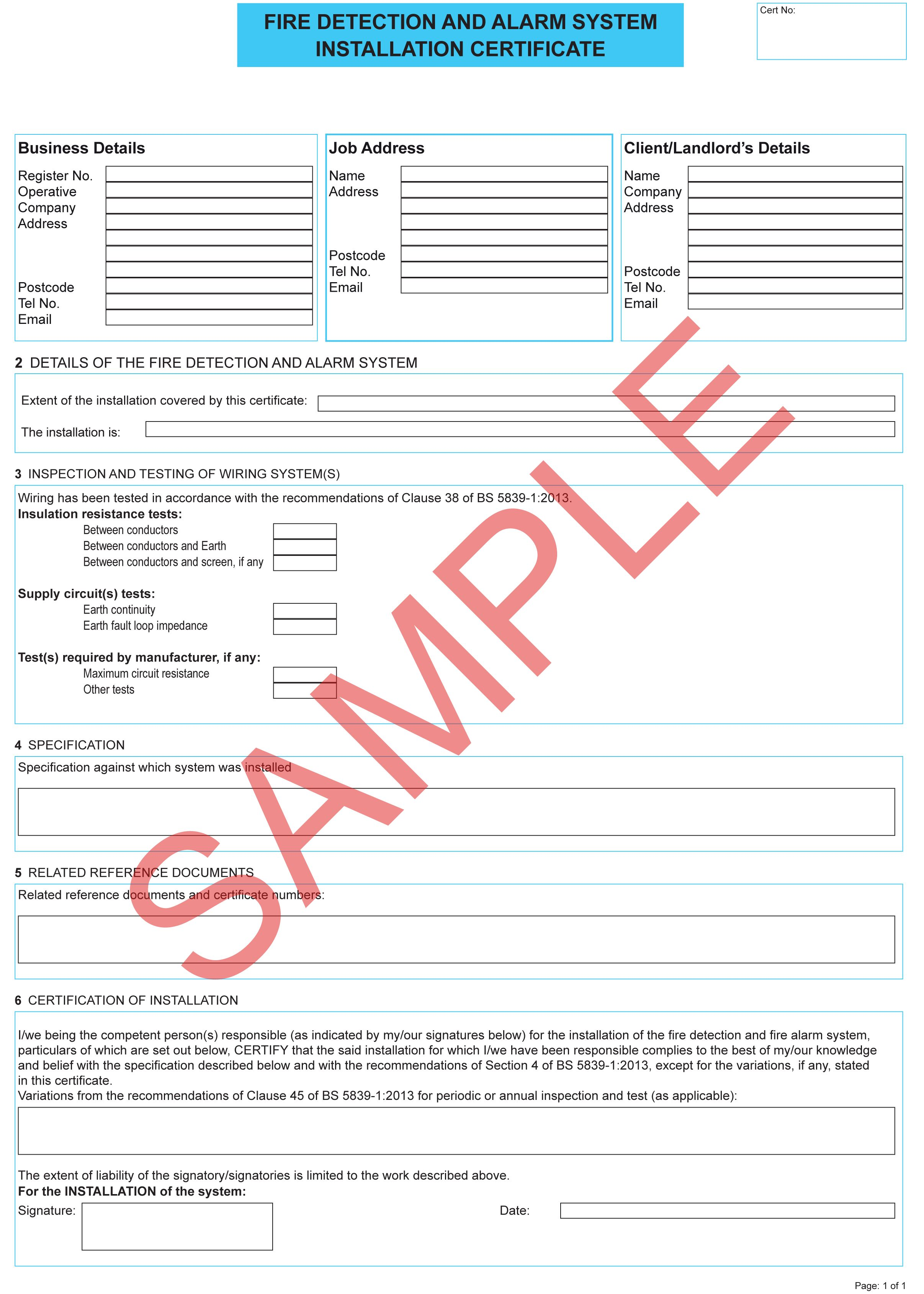 Certificates Everycert Throughout Electrical Installation Test Certificate Template 10 Professional T In 2020 Certificate Templates Professional Templates Templates