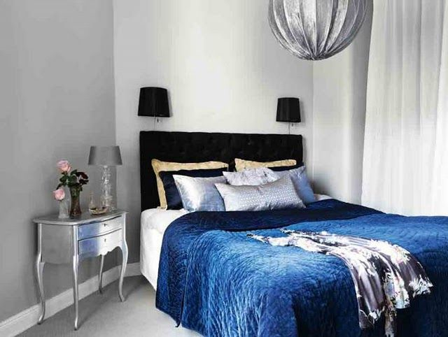 Color: Blue for the bedroom | haken's place