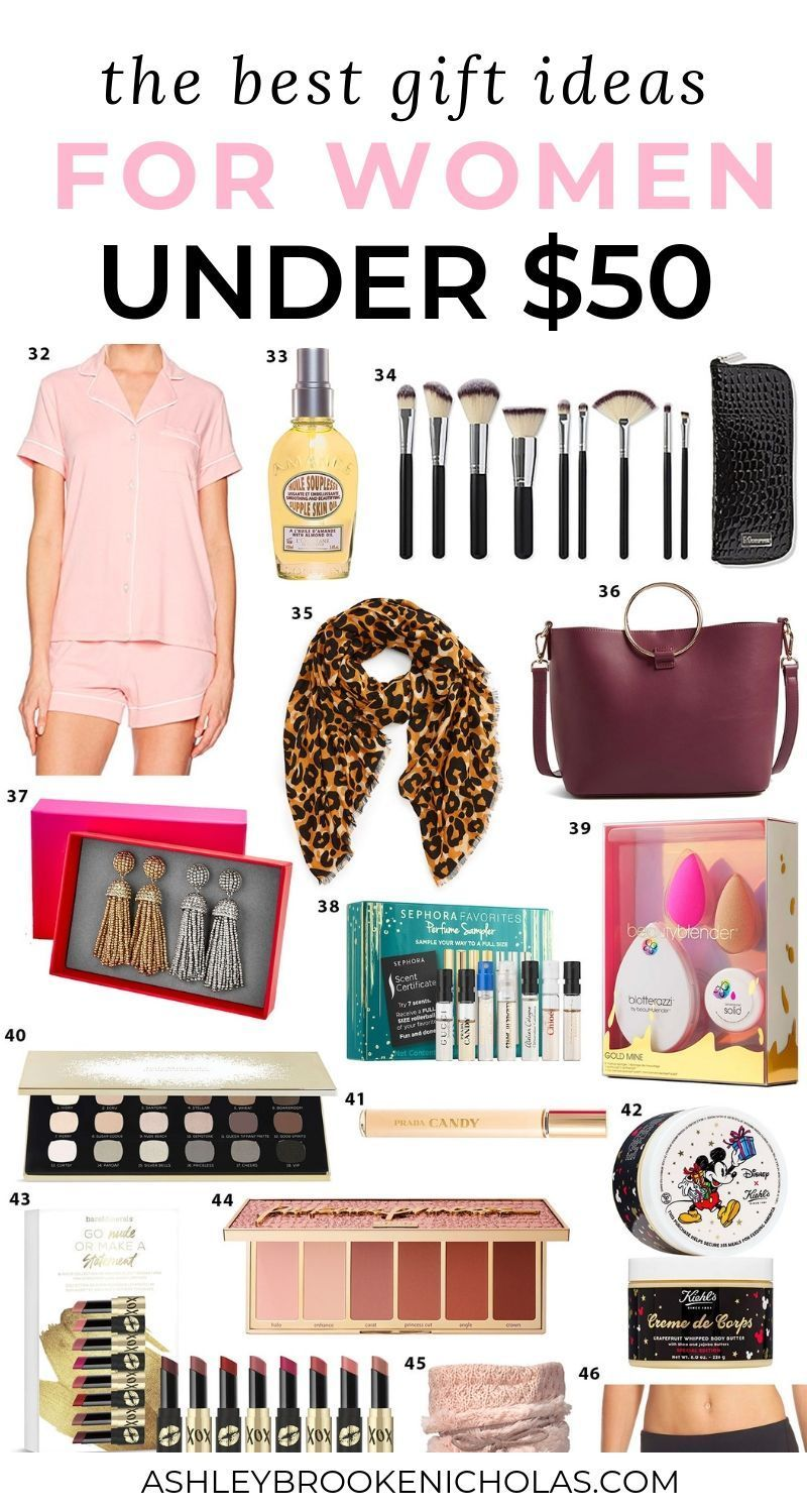 Best Gifts For Women Under 50 In 2020 Cool Gifts For Women Gifts For Women Best Christmas Gifts