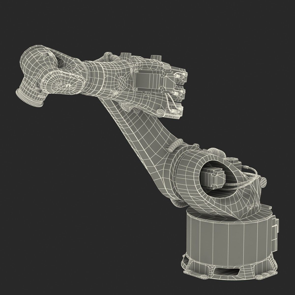 3d kuka robot kr 360 model | AGV in 2019 | Robot, Robot arm