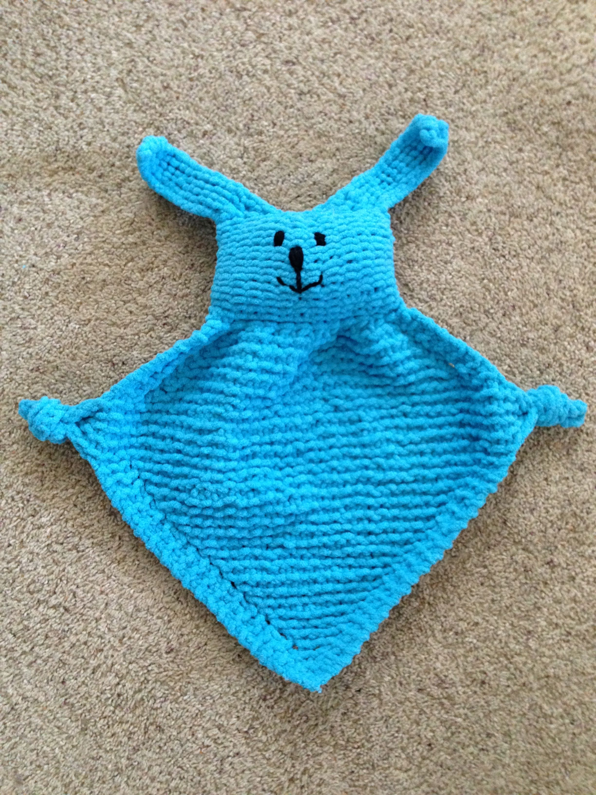 One of my favorites - Bunny Blanket Buddy pattern from Lionbrand ...