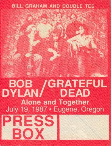 Press Pass Bob Dylan Grateful Dead Autzen Stadium Grateful Dead Grateful Dead Poster Grateful Dead Grateful Dead Image