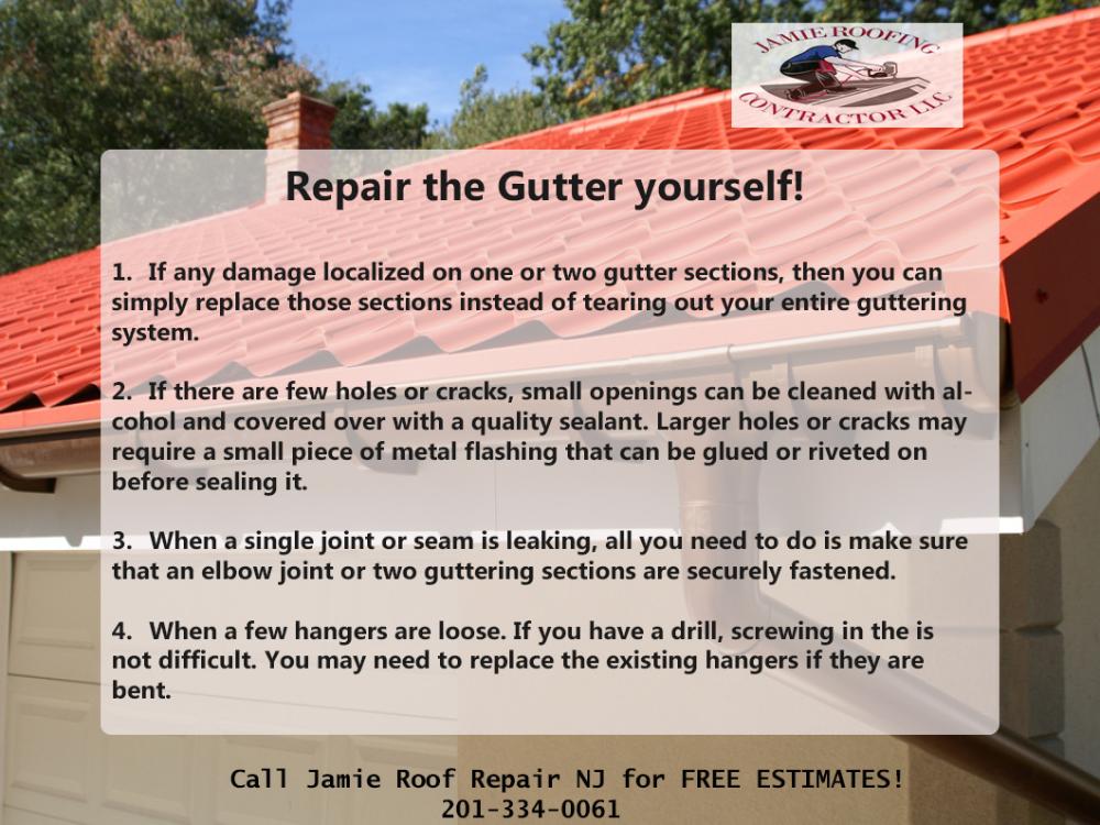How To Repair Gutter Yourself In 2020 Gutter Gutter Repair Gutter Maintenance