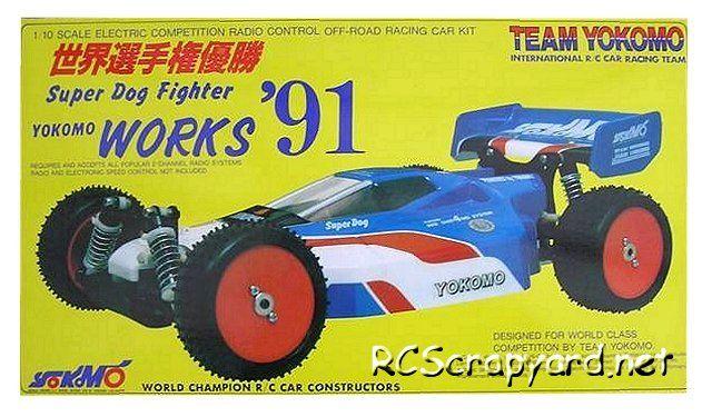 Yokomo Super Dogfighter Works 91 Vintage Rc Pinterest Radio
