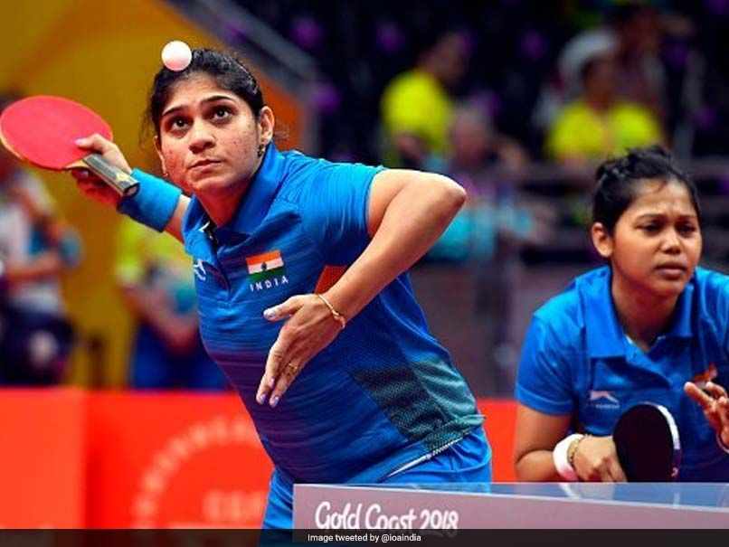 Cwg 2018 India Men S And Women S Teams Enter Table Tennis Semi Finals Commonwealth Games Table Tennis Semi Final
