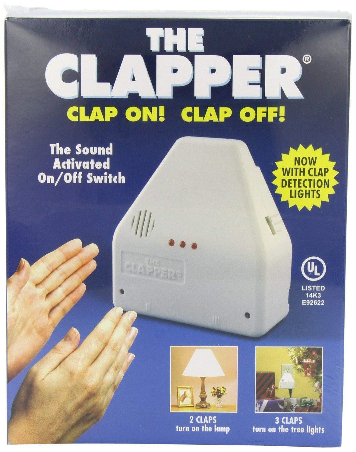 High Quality The Original Clapper Sound Activated On / Off Switch, Clap On! Clap Off!    Night Lights   Amazon.com Nice Look