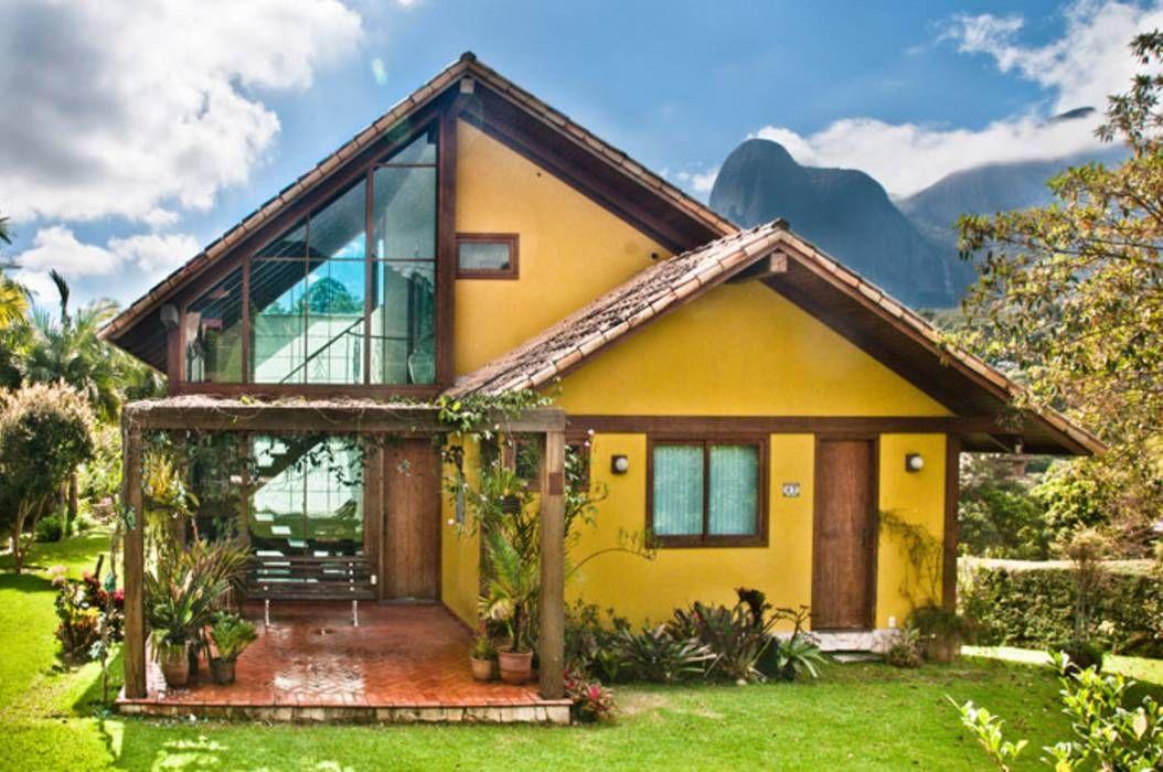 Ideas, imágenes y decoración de hogares Casas de estilo rural