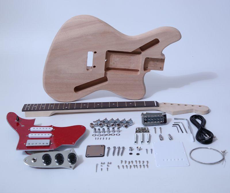 Diy electric guitar kitjaguar style build your own guitar