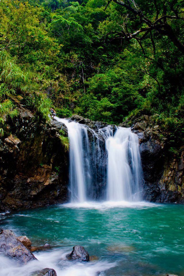 Real Quezon Waterfalls Nature Wallpaper Waterfall Waterfall Wall Art