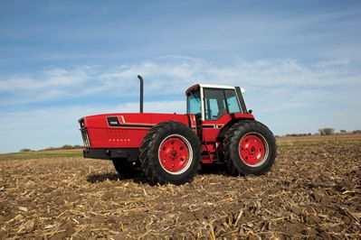 """1981 International 3388 tractor (from the book """"Red Tractors 1958-2013: The Authoritative Guide to International Harvester and Case-IH Farm Tractors in the Modern Era"""")"""