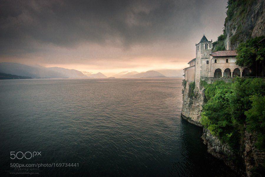 #landscape #Photography : Eremo Santa Caterina del sasso by Philippe_manguin https://t.co/j53SkIKxPd #followme