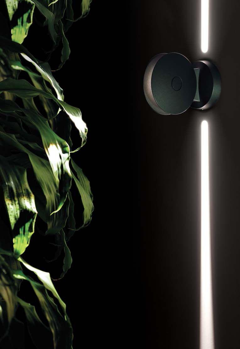 Led aluminium wall washer trick by iguzzini illuminazione design