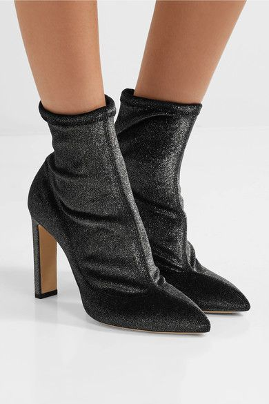 Jimmy Choo Metallic Ankle Boots 2015 new sale online cheap sale best place FywUxYSEN