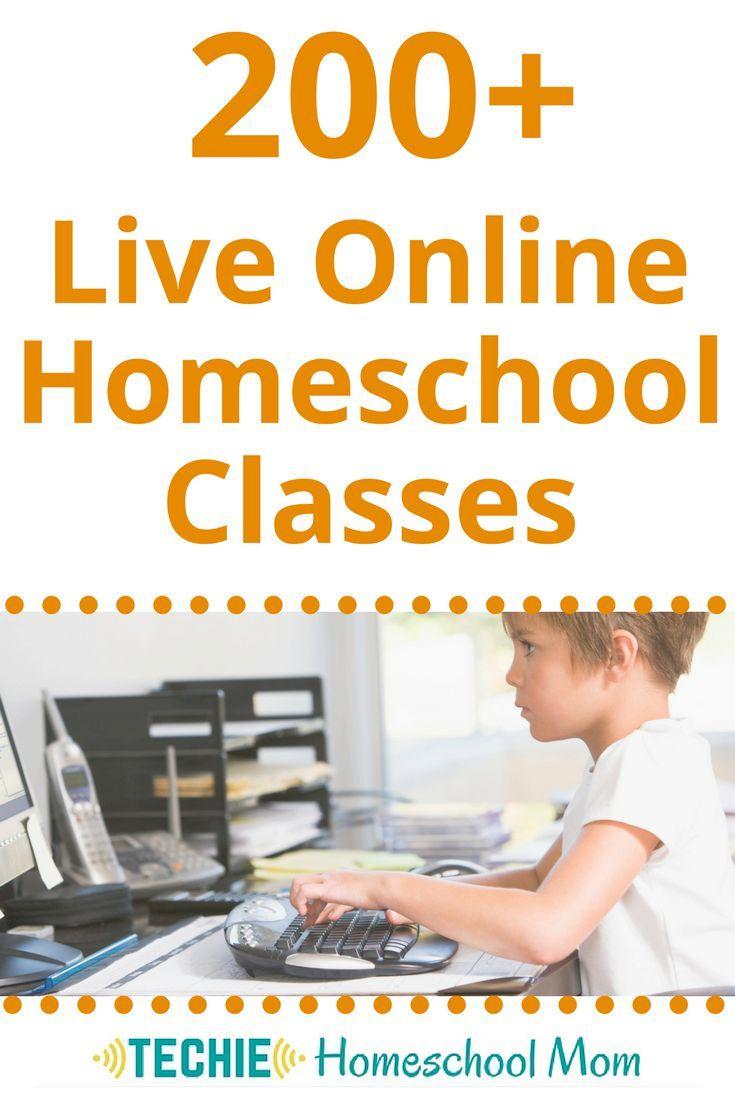 200 Live Line Homeschool Classes Pinterest