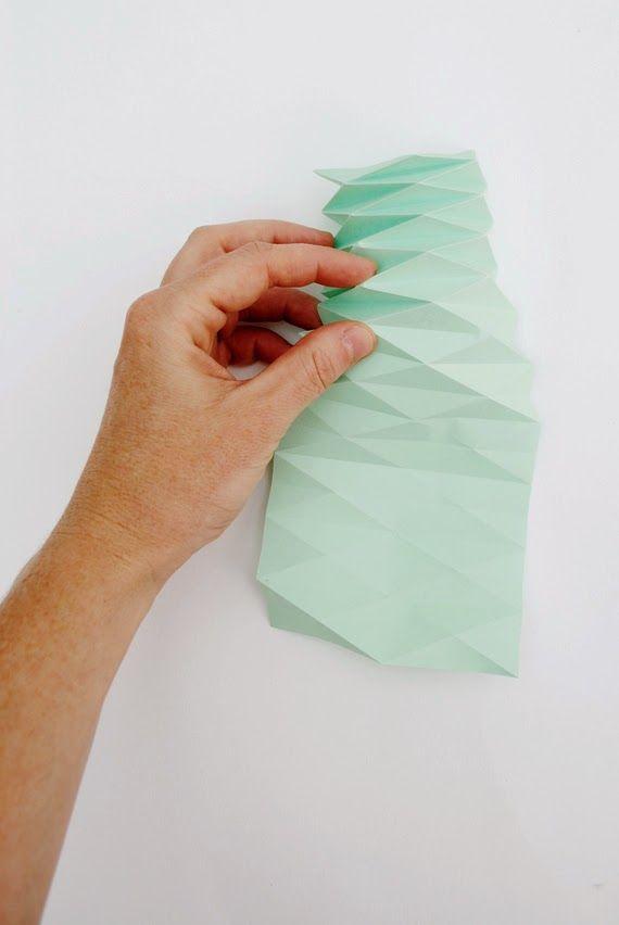 DIY: Hazte un portavelas de papel de colores pastel, bonito y barato